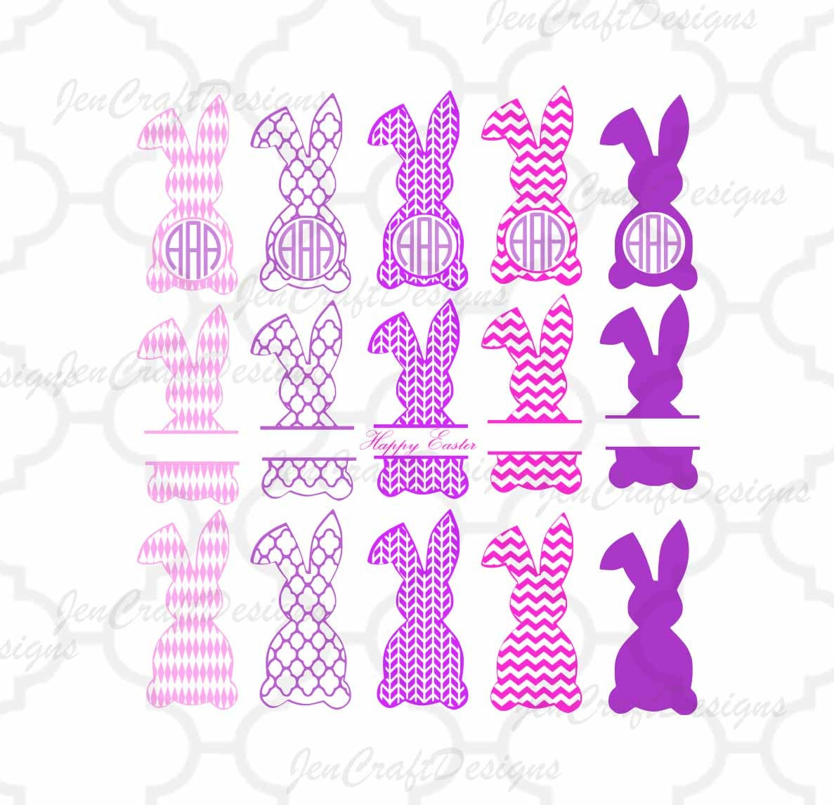 zoom - Easter Photo Frames