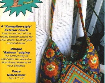 The DittyRoo Purse Pattern Handbag Studio Kat Designs Women's DIY Sewing