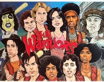 The Warriors caricature