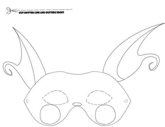 Pokemon Raichu Kleurplaat Items Similar To Pokemon Coloring Party Masks Raichu