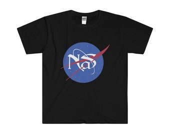 Nasty Nas MenS Fitted Short Sleeve Tee Shirt