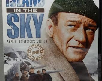 ISLAND in the SKY John Wayne 1953 DVD