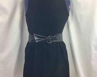 80's Mini Dress - Size XXS XS - Vintage Mini Dress - Vintage Black Dress - Little Black Dress - 80's Dress - Vintage Dress - Vintage LbD
