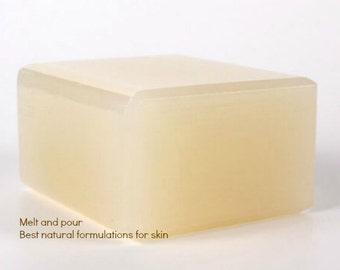 Aloe Vera Melt and Pour Soap 1 Lb wrapped