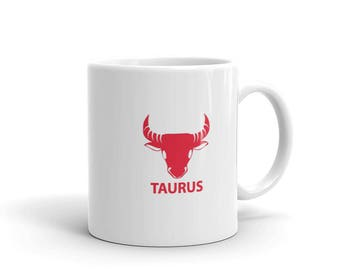 Taurus Zodiac Mug made in the USA