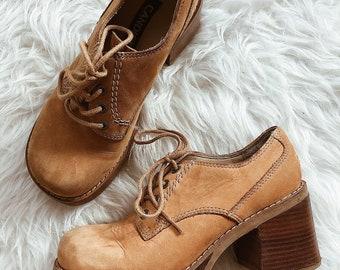 vintage candies chunky platform shoes