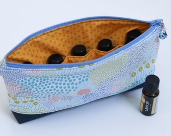 Essential Oil Pouch - Soft Blue