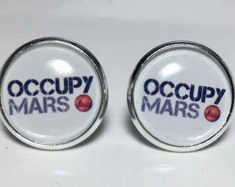 Occupy Mars NASA Science Astronomy Physics Earrings