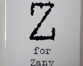Z for Zany Coaster