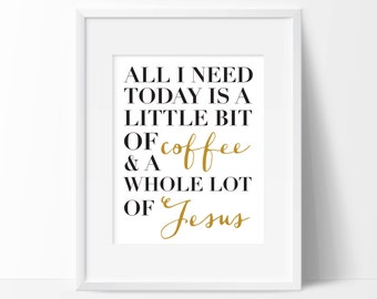 Whole Lot of Jesus Digital Print | Inspirational Print