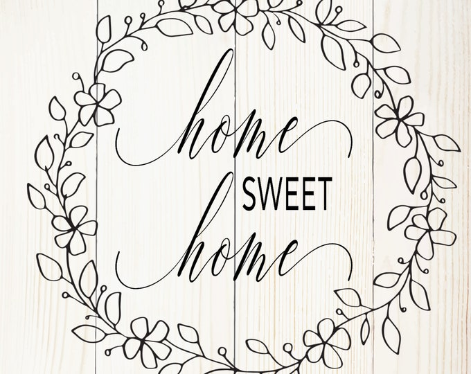 Home Sweet Home Board signs, Gallery wall, Handmade Home Decor, Farmhouse Decor,  Simple Southern Decor, Magnetic Picture and Framing