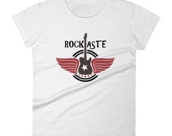 Womens Winged Guitar Esoteric T Shirt