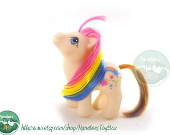 Vintage My Little Pony: Baby Starbow 80s Toy by Hasbro