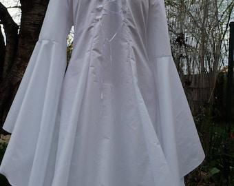 Medieval wedding dress, medieval costume, elven dress, Galadriel