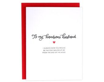 Wedding Card, Wedding Husband Card, Card For Husband On Wedding Day, Day Of Wedding Card, Wedding Card For Husband, Husband To Be