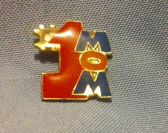 MOM #1 Hat / Lapel Pin!