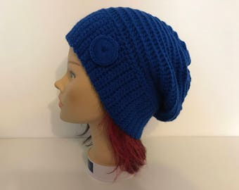 Blue bonnet - button