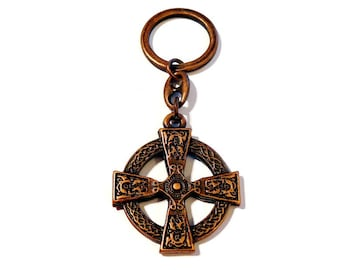 Celtic cross key chain Altbronze Celtic cross-Celtic Cross