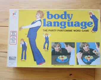 Body Language Milton Bradley 1975