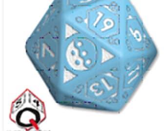 Infinity RPG Dice Set - Pan Oceania BOX (7 Unique Dice) - 050493 - Modiphius Entertainment