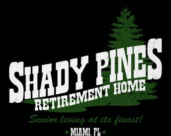 Classic TV Comedy The Golden Girls Inspired Not Now Ma Vintage 1980s 80s Shady Pines T-Shirt : Men Women's Slim Fit & Kids Sizes