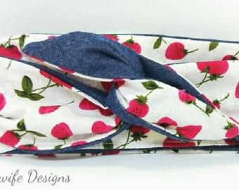 Strawberry Fields - Head Wrap