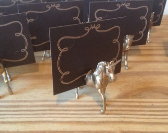 20 Unicorn magnet place card holders