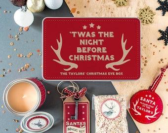 Personalised Family Christmas Eve Box - Christmas Eve Box - Christmas Box