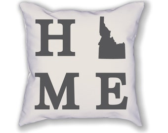 Idaho Home State Pillow