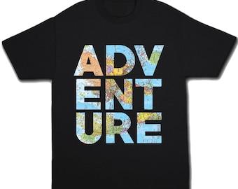 Kids Adventure Shirt Camping Shirt Toddler Shirt Summer Shirt Travel Shirt Funny Tshirt Summer Camp Camping Birthday Kids T Shirt