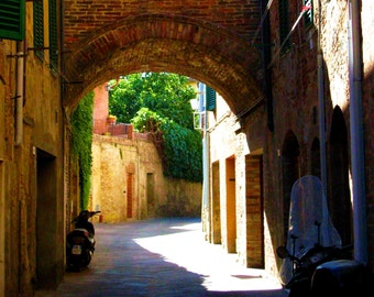 Travel Photography- Take Me To Tuscany- Italian, European, Architectural, Italy, Italian Street Scene, Art,  Landscape, Fine Art Photography