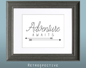 Adventure Awaits 8x10 Inch Printable