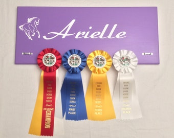 Custom Display Board Rack for Horse Show/Dog Show/Other Show Ribbons