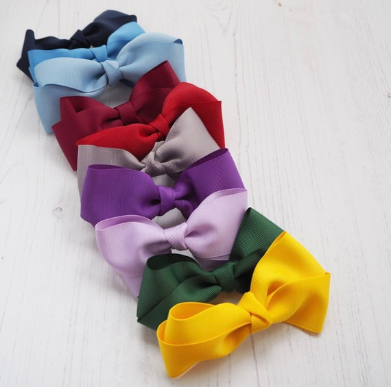 Ribbon School Bow