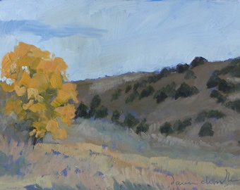 The Cottonwood - Original Oil Landscape Painting