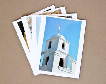 SONORAN DESERT, AZ Set of 4 Blank Photo Note Cards