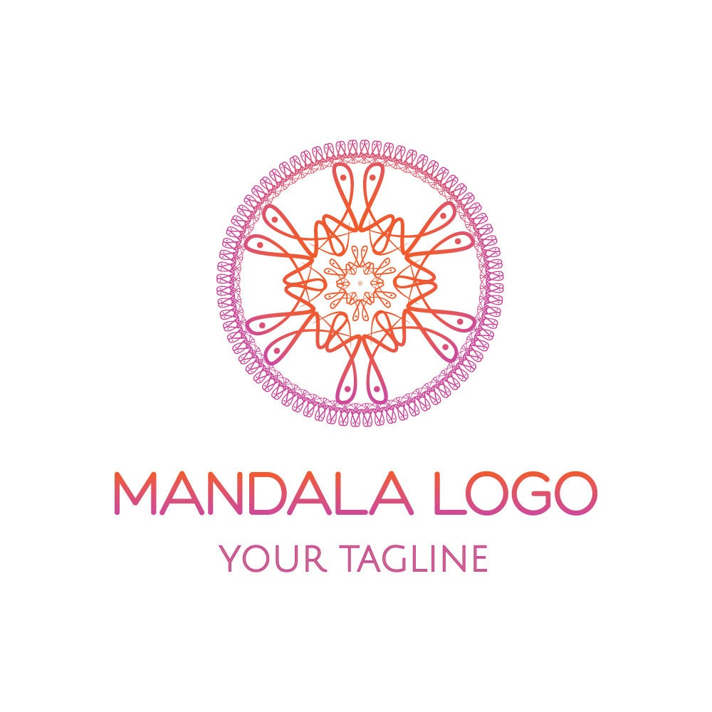 Mandala-Logo Yoga-Logo Zen-Logo Spa Logo Hotel-Logo