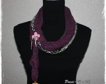 Choker, necklace, snood, cowl, neck warmer. Scarf.