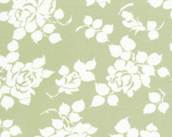 Tanya Whelan for Free Spirit - DELILAH - Rosie in Green - Cotton Fabric