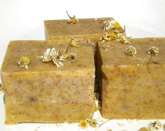 Lemon Chamomile Milk Soap