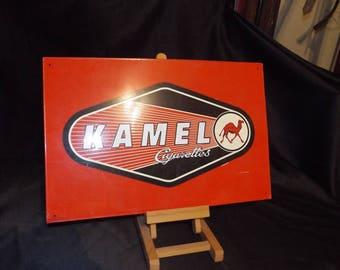 Vintage Authentic KAMEL metal Advertising Sign Man Cave