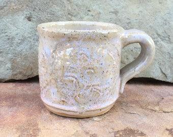 Lace Textured Mug