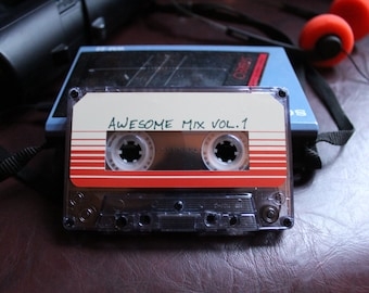 Awesome mix vol. 1 tape! Guardians of the Galaxy Soundtrack!