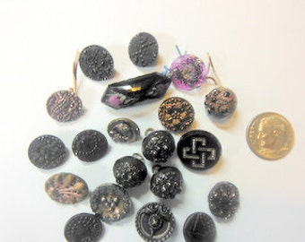 Vintage Buttons- 20 assortment