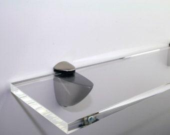 Acrylic Coloured Shelves - CLEAR for Interiors