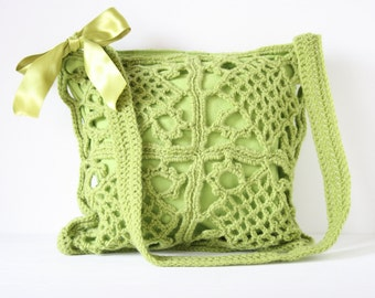 Crochet shoulderbag Gina