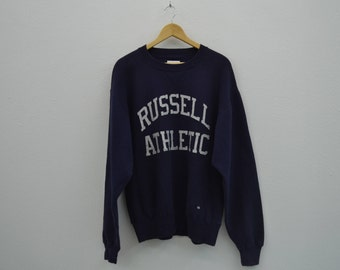 Russell Sweatshirt Vintage Russell Pullover Russell Vintage Sweat Pro Cotton Heavyweight Made in USA Mens Size M
