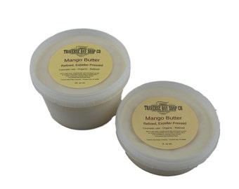 Mango butter-8oz Pressed, Soap making, lotion,creams,massage oil, bath, beauty, lip balm 8oz, 1/2 pound WEIGHT