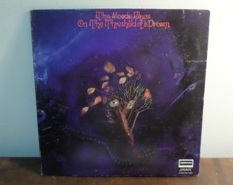 Vintage 1969 LP Record The Moody Blues On the Threshold of a Dream Excellent Condition With Original Booklet 15744