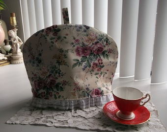 Floral Tea Pot Cosy Cottage Chic Tea Pot Cozy
